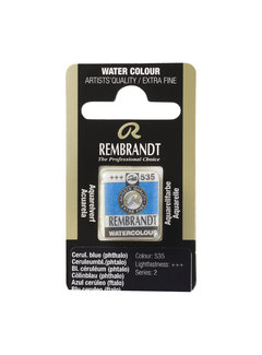 Rembrandt Aquarelverf Napje Ceruleumblauw (Phtalo) 535