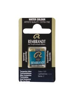 Rembrandt Aquarelverf Napje Turkooisblauw 522