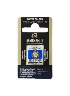 Rembrandt Aquarelverf Napje Kobaltblauw (ultramarijn) 512