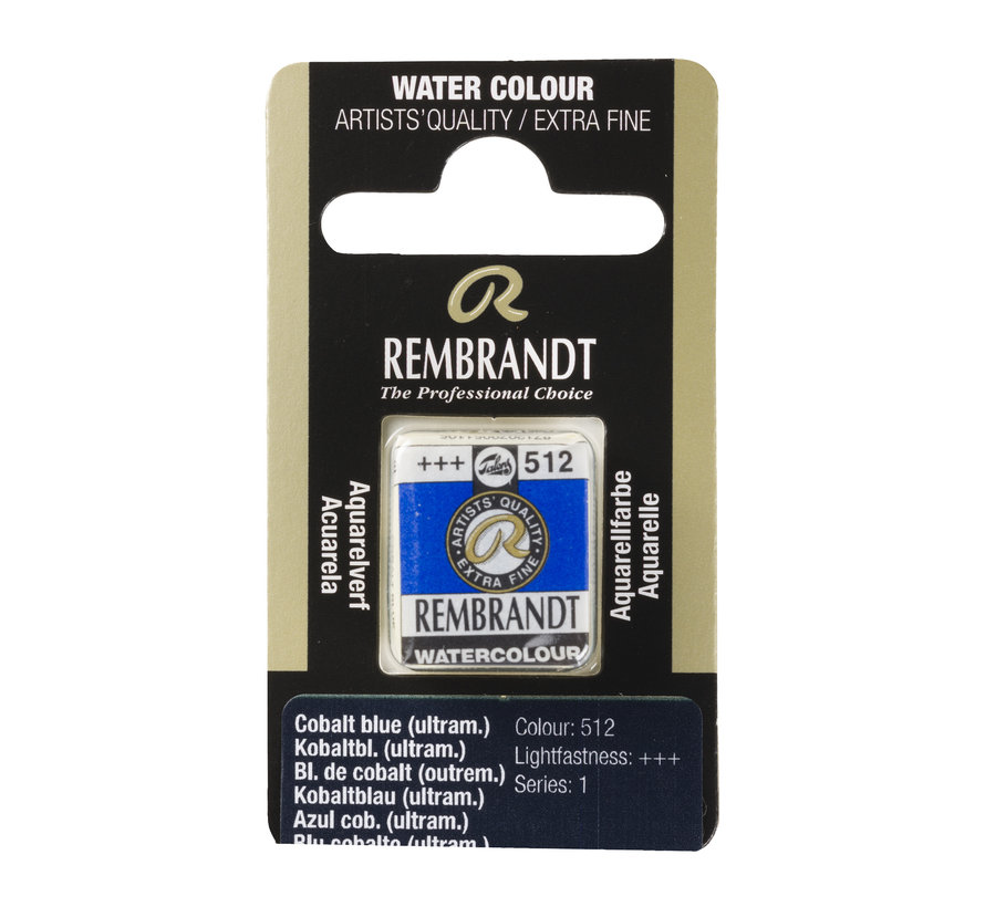 Aquarelverf Napje Kobaltblauw (ultramarijn) 512