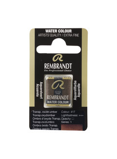 Rembrandt Aquarelverf Napje Transparantoxyd Omber 417