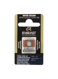 Rembrandt Aquarelverf Napje Transparantoxydrood 378