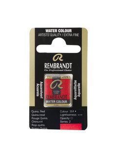 Rembrandt Aquarelverf Napje Quinacridonerood 364