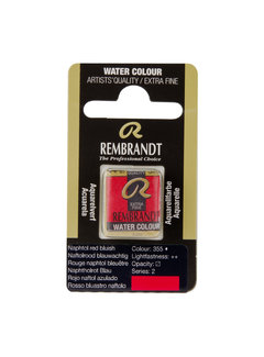 Rembrandt Aquarelverf Napje Naftolrood Blauwachtig 355