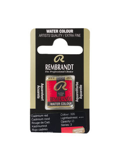 Rembrandt Aquarelverf Napje Cadmiumrood 305
