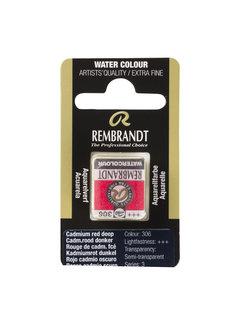 Rembrandt Aquarelverf Napje Cadmiumrood Donker 306