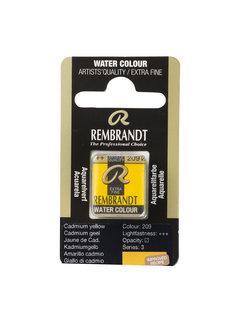 Rembrandt Aquarelverf Napje Cadmiumgeel 209