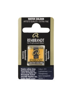 Rembrandt Aquarelverf Napje Napelsgeel Donker 223