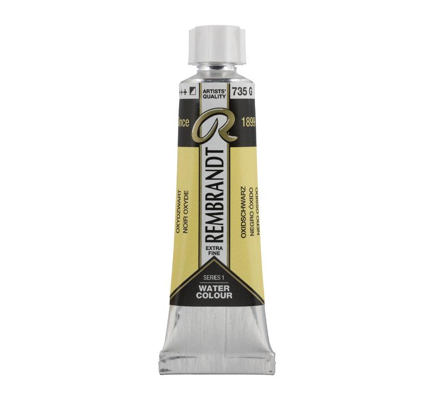 Aquarelverf 10 ml Oxydzwart 735