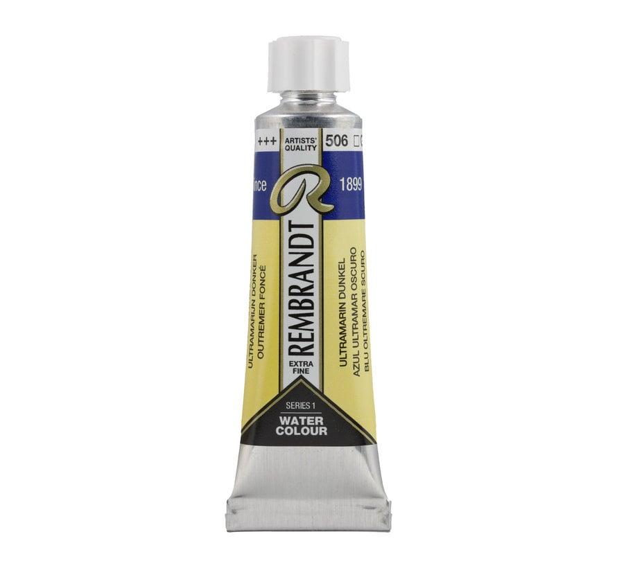 Aquarelverf 10 ml Ultramarijn Donker 506