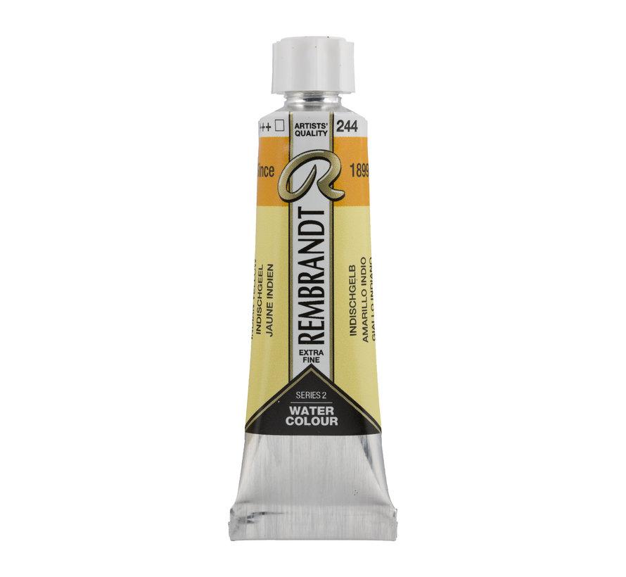 Aquarelverf 10 ml Indischgeel 244