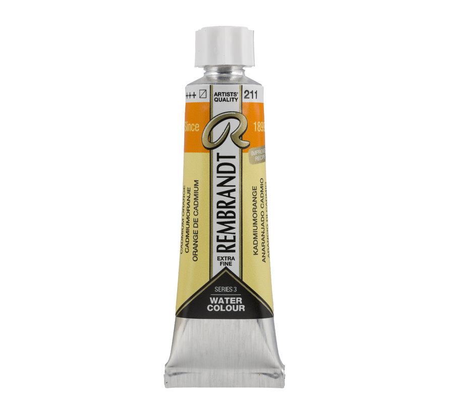 Aquarelverf 10 ml Cadmiumoranje 211