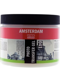 Amsterdam Foto transfer gel pot 041