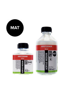 Amsterdam Acrylmedium mat fles 117