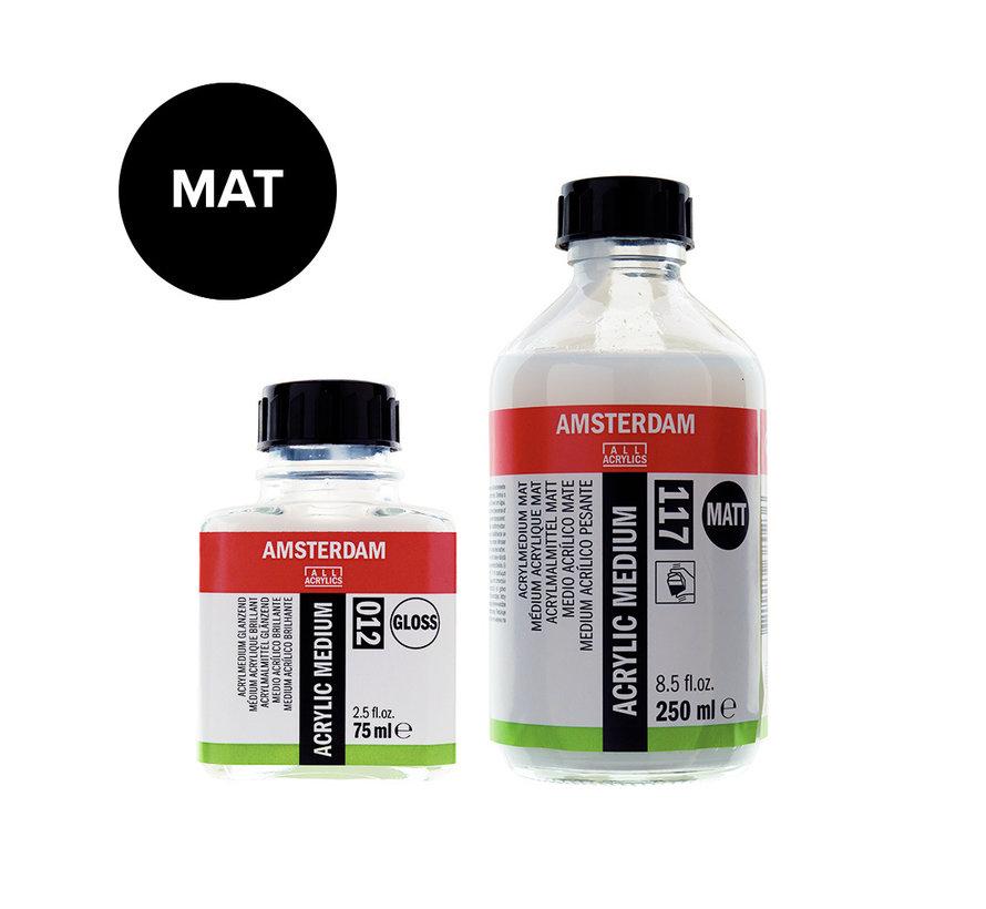 Acrylmedium mat fles 117