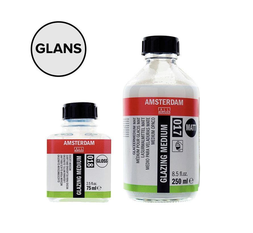 Glaceermedium glanzend fles 018