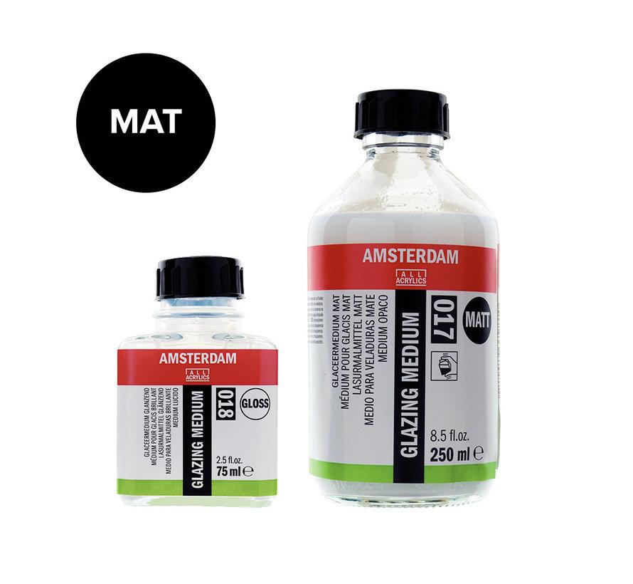 Glaceermedium mat fles 017