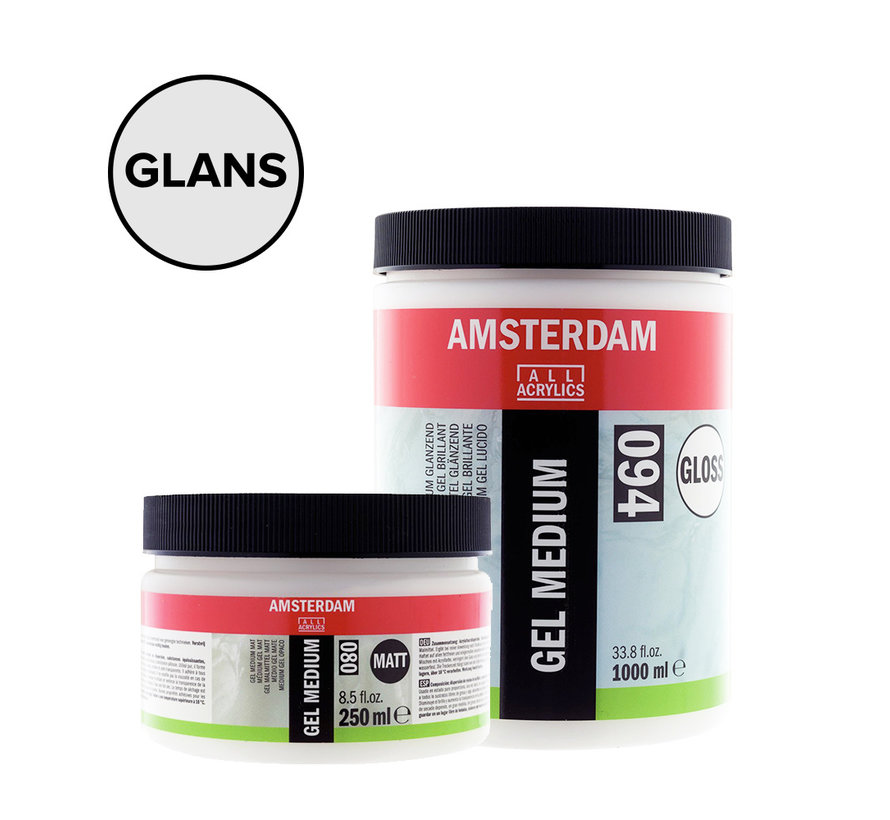 Gel medium Glanzend pot 094
