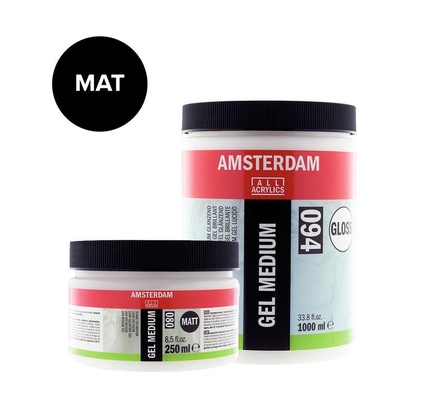 Gel medium Mat pot 080