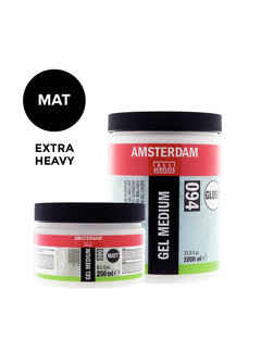 Amsterdam Extra heavy gel medium Mat pot 021