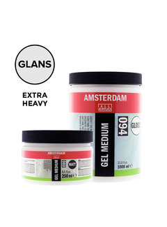 Amsterdam Extra heavy gel medium Glanzend pot 021