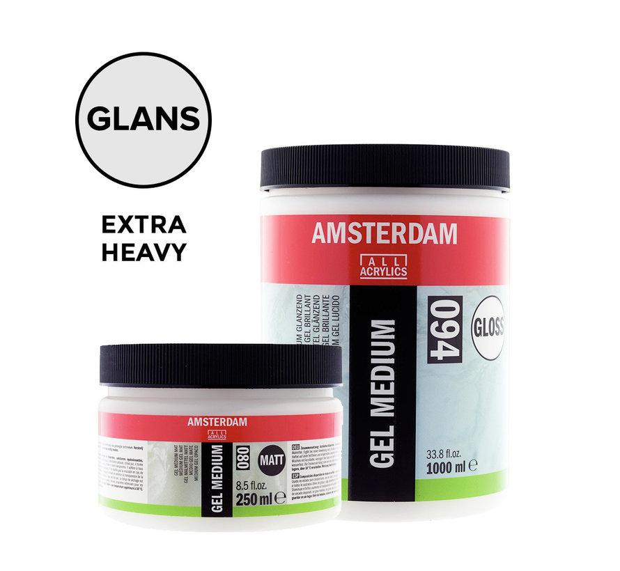 Extra heavy gel medium Glanzend pot 021