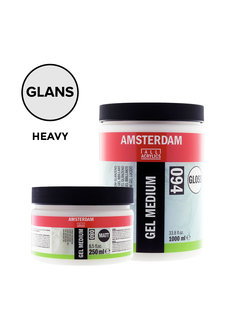 Amsterdam Heavy gel medium Glanzend pot 015