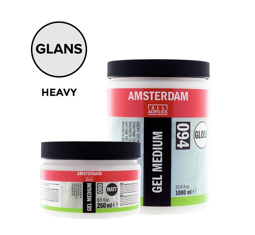 Heavy gel medium Glanzend pot 015