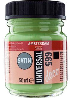 Amsterdam Universal Satin Fles 50 ml Lentegroen 665