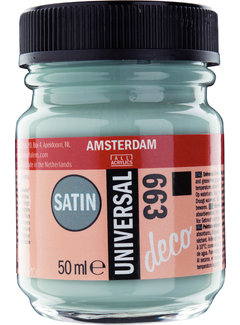 Amsterdam Universal Satin Fles 50 ml Grijsgroen 663