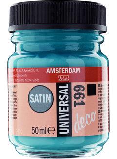Amsterdam Universal Satin Fles 50 ml Turkooisgroen 661