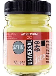 Amsterdam Universal Satin Fles 50 ml Limoen 649