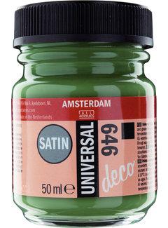 Amsterdam Universal Satin Fles 50 ml Antiekgroen 646