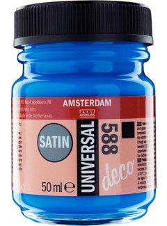 Amsterdam Universal Satin Fles 50 ml Felblauw 588