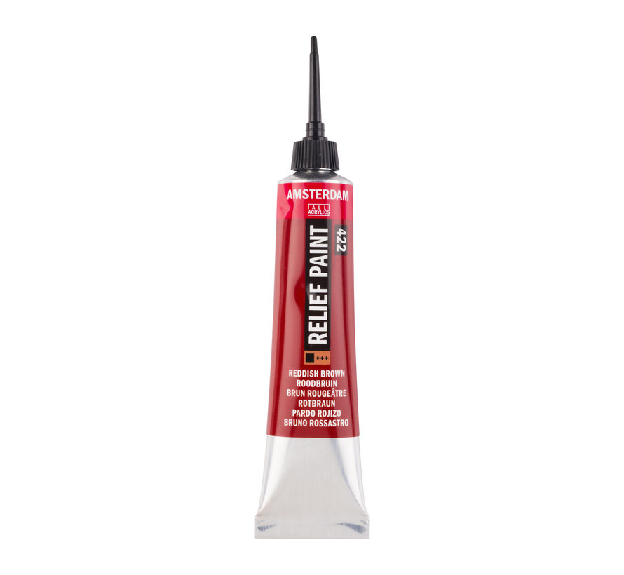 Contourverf Tube 20 ml Roodbruin 422