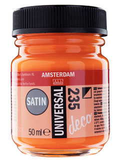 Amsterdam Universal Satin Fles 50 ml Orange 235