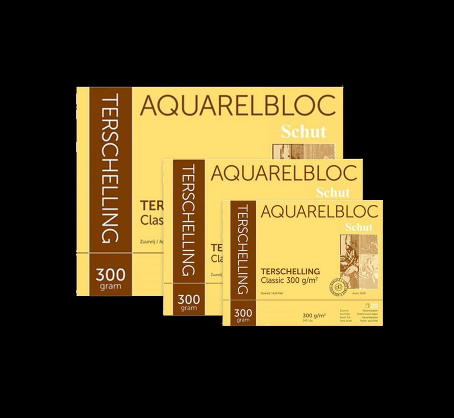 Terschelling Classic aquarelblok 300gr 20 vellen