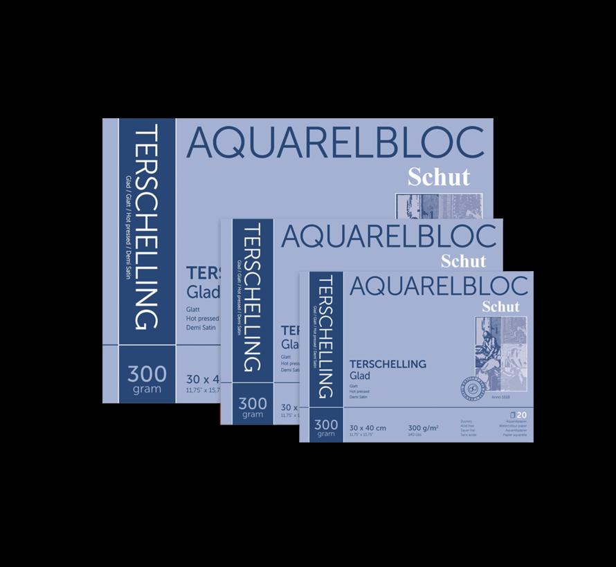 Terschelling Glad aquarelblok 300gr 20 vellen