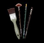 Acrylverf penselen