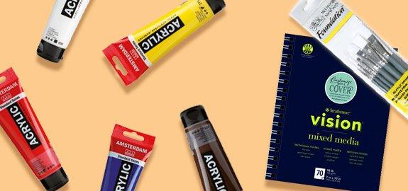 Bij de aanschaf van minimaal 3 Artist olieverf tubes van Winsor & Newton