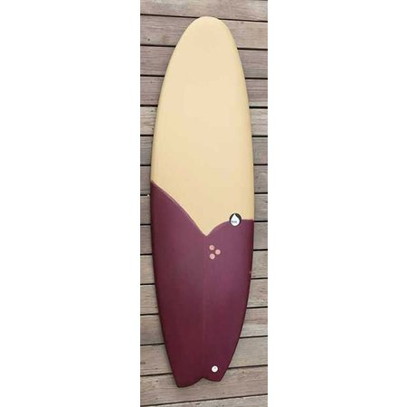 Brink Surf Brink Surf Mokka/Burgundy 5'10''
