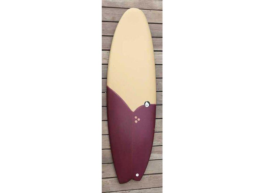 Brink Surf Mokka/Aubergine 5'10''