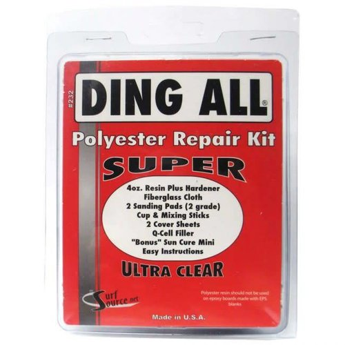Ding All Ding All Polyester Super Repair Kit