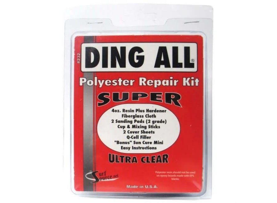 Ding All Polyester Super Repair Kit