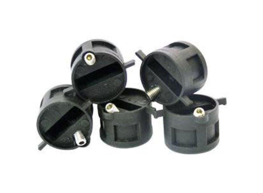 Eurofins Dual Tab Compatible Fin Plugs Thruster Set