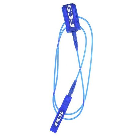 FCS FCS 5ft Comp Leash Blue Glass