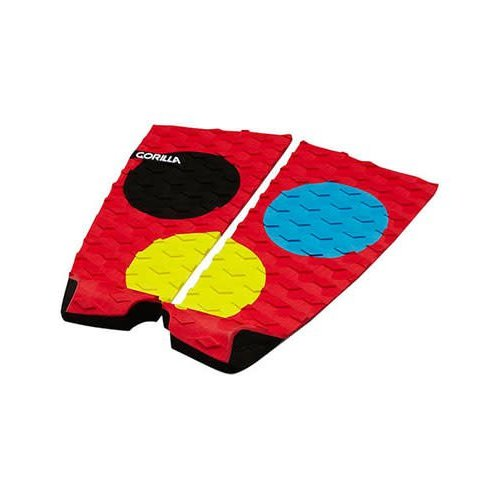 Gorilla Surf Gorilla Ford Dots Tailpad Red