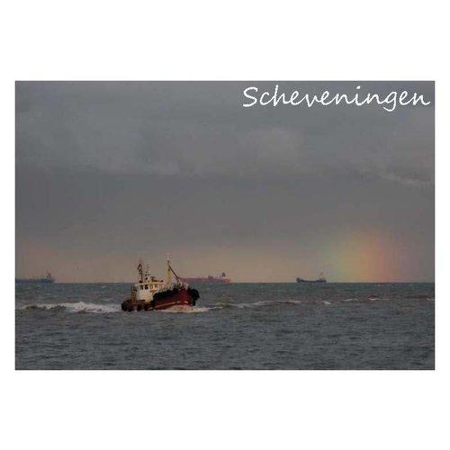 Ivooosterbaan Ivo Oosterbaan Scheveningen Schip Postkaart