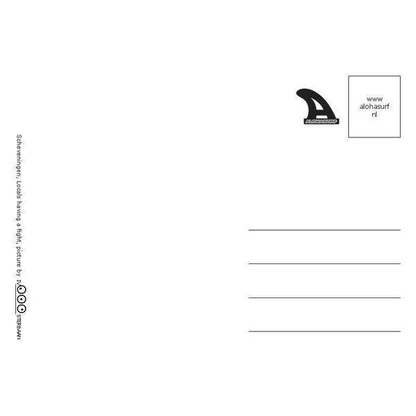 Ivo Oosterbaan Scheveningen Vogels Postkaart