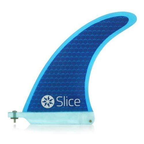 Slice Northcore Slice 6 Inch Blue Longboard Fin